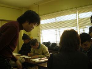 NPOまちづくり川口公式ブログ-イラスト教室 その1