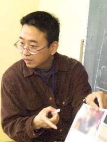 NPOまちづくり川口公式ブログ-イラスト絵画教室講師 山川賢一郎
